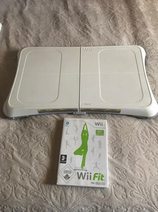 Tabla Wii fit y juego