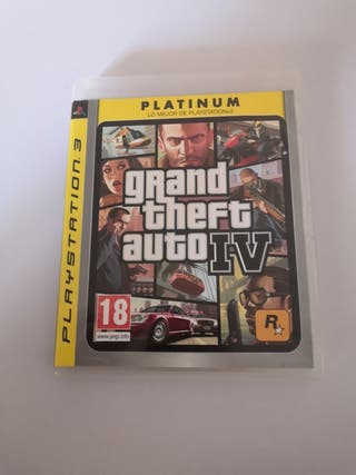 Vendo juego grand theft auto 4 para ps3