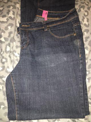 New Look Dark Denim Bootcut Jeans Size 14