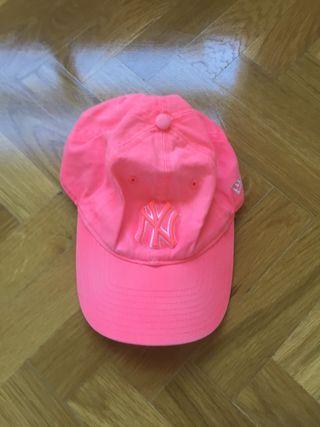 Gorra NY Yankees Rosa