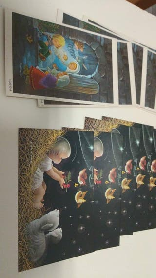 postales navideñas antiguas Constanza.