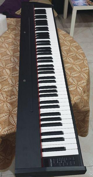 Piano eléctrico 88 teclas tamaño piano