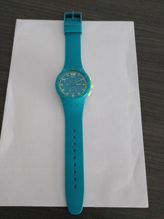 Reloj Swatch turquesa poco uso