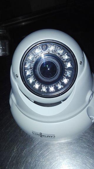 cámara de vigilancia poco uso