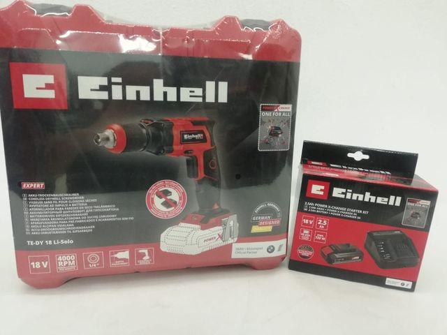 Atornillador para yeso a Bateria Einhell TE-DY 18