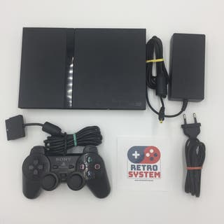 PlayStation 2 Slim, mando + cables