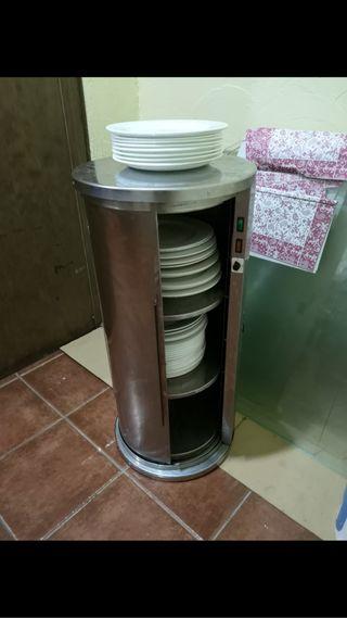 Calientaplatos o calentador de platos hosteleria