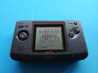 Consola Neo Geo Pocket Color Carbon Black SNK