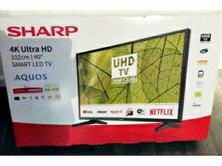 "SHARP 4K Ultra HD 102 cm, 40"" SMART LED TV, AQUOS"