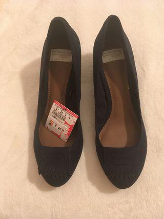 Zapatos tacón bajo talla 37 NUEVOS