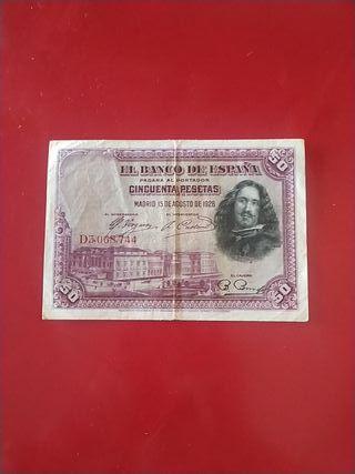 Billete 50 pesetas
