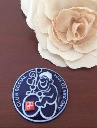 Lote 2 medallas cerámica de Sargadelos