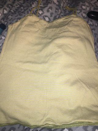 Next Green Vest Top Size 14