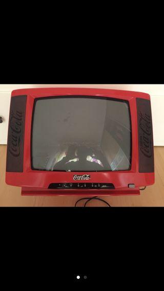 Tv pequeña edición limitada Coca Cola