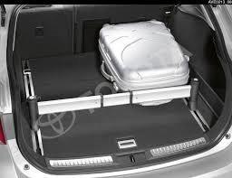 Barra separadora maletero Toyota