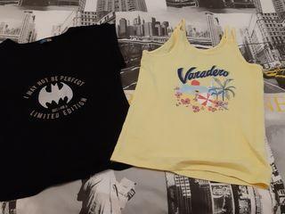 2 Camisetas niña