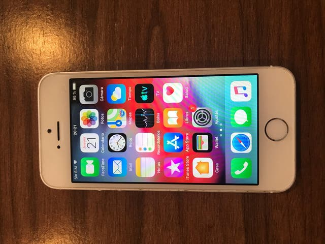 teléfono móvil Apple Iphone 5s 16Gb libre + caja