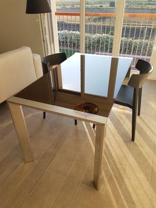 Mesa de salón extensible CATTELAN