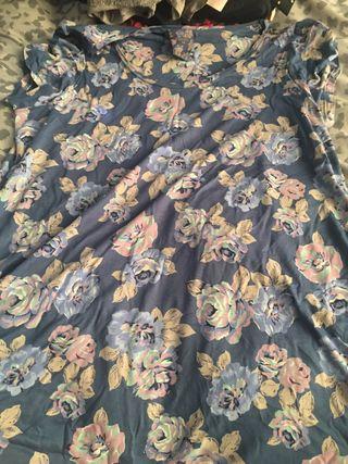 Next Floral T-Shirt Size 14.