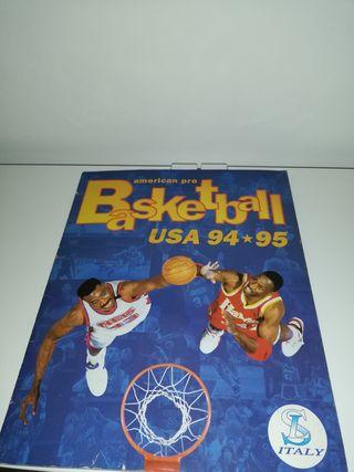 Álbum de cromos NBA