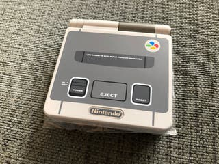 Gameboy Advance SP BACKLIGHT SUPER FAMICOM