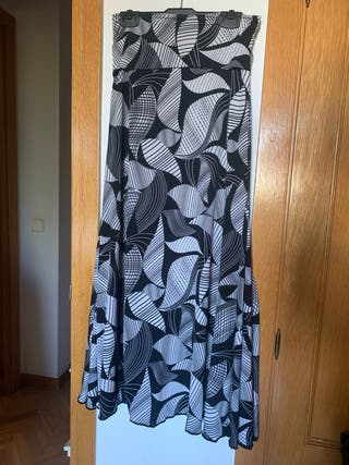 Falda de ensayo baile flamenco