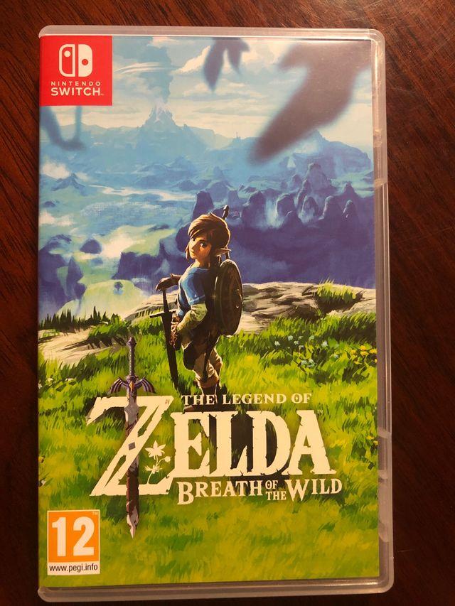 Zelda Breathe Of The Wild Nintendo Switch