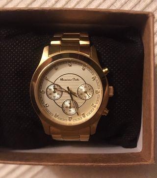 Reloj Dorado Massimo Dutti