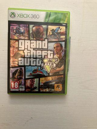 GTA V. Videojuego Xbox 360
