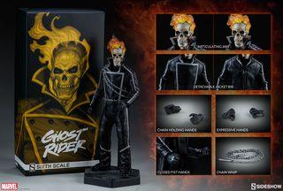Ghost Rider Figura 1/6 Marvel - Sideshow