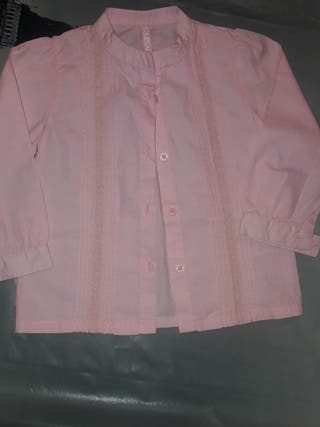 camisa niña talla 18 meses