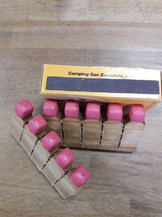 Cajas fosforos para barbacoa cocina carbon