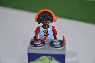 Playmobil Dj. con su equipo de música ref.5377