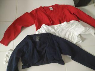 chaquetas para vestidos 3/4 años