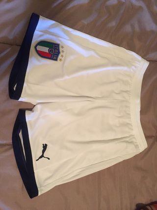 Pantalon de futbol puma seleccion Italia