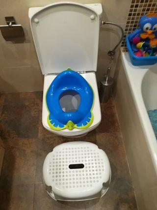 Reductor baño + peldaño grande