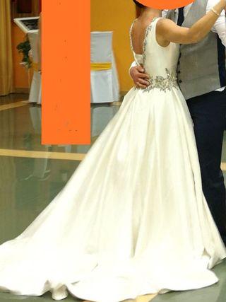 vestido novia T40
