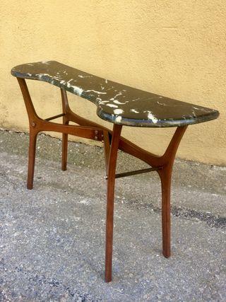 Mesita mesa recibidor diseño escandinavo