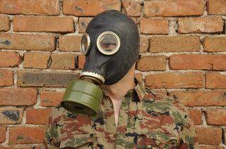 Mascara de gas GP-5 Negra