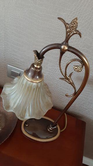 Lámpara sobremesa bronce Mariner