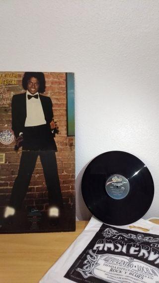 disco vinilo - Off the Wall - michael jackson