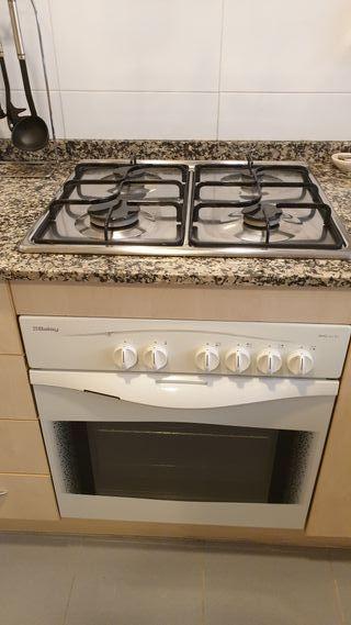 Conjunto encimera y horno BALAY (Gas)