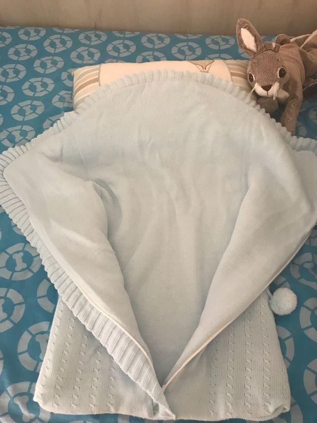 Saco de lana bebe