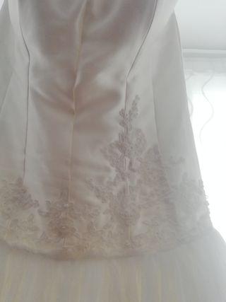 vestido de novia Sara Blanco