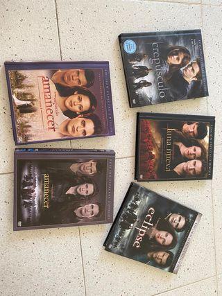 DVD's Saga Crepúsculo, edición especial.