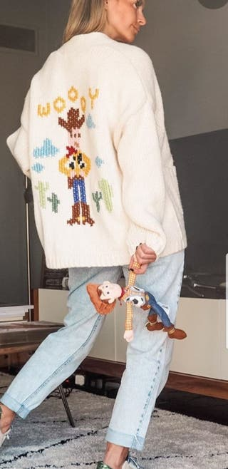 chaqueta punto Toy Story zara