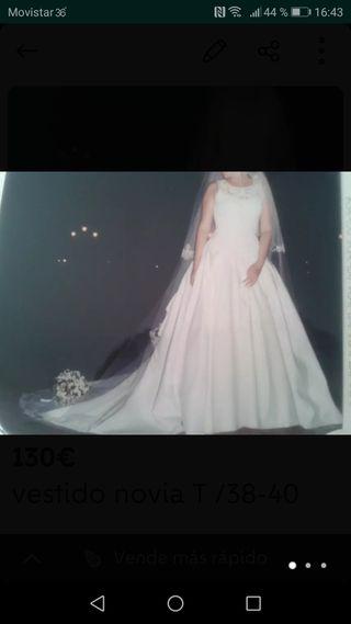vestido novia T /38-40