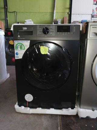 lavadora Beko negra