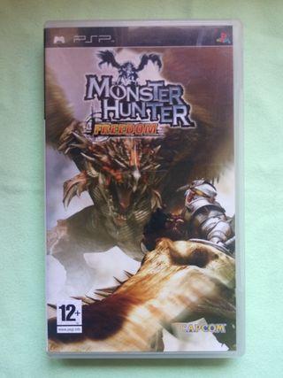 PSP. Monster Hunter FREEDOM.