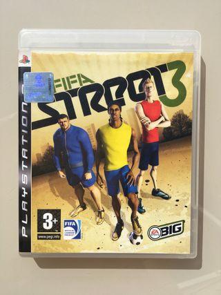Videojuego PS3 Fifa Street 3